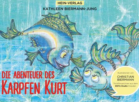 """Kinderbuch """"Die Abenteuer des Karpfen Kurt"""""""