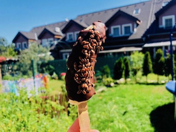 Zdravá Banánová zmrzlina