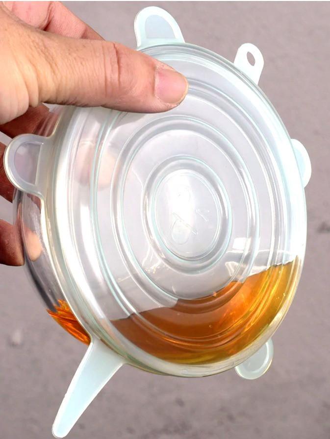 Tapa de silicona para no derramar líquido