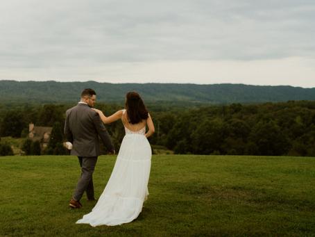 Kaylee + Jesse's Romantic Boho Barn Wedding in Tennessee!