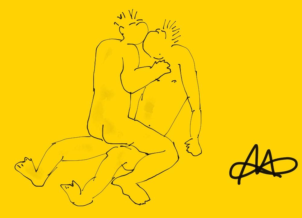 Gay Kamasutra Sex Stellung