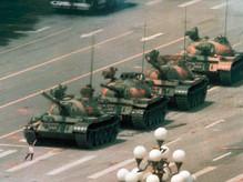 Puking king @ The Tiananmen Square