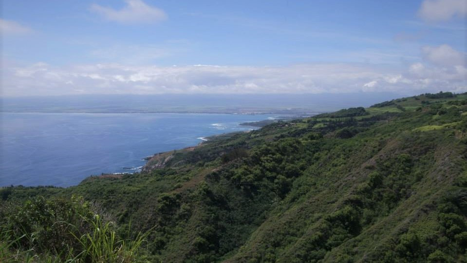Coastline of Maui in Hawaii