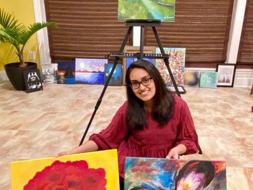Amber's Uplifting Paintings & Artwork