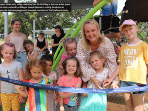 New $1.2m inclusive playground at Stevenson Park delivered in partnership with community