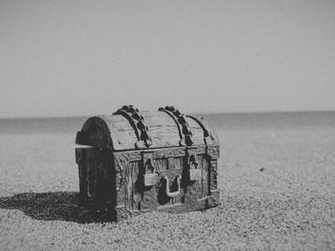 宝物が隠れている場所
