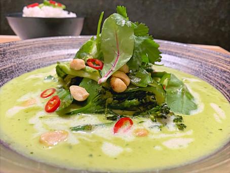 Thai Veg Green Curry (Vegan)