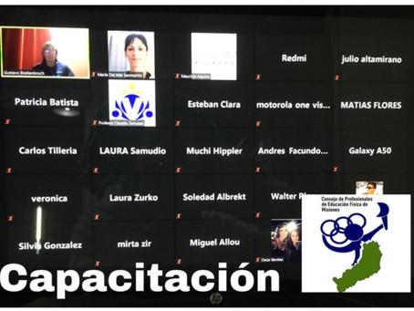 """Capacitación del COPEFIM  a sus Profesionales Matriculados en Manejo del """"Protocolo de Gimnasios"""""""