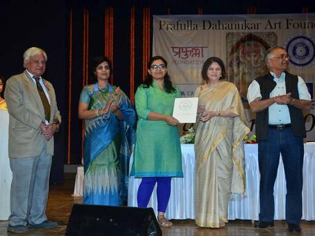 Prafulla Dahanukar Art Foundation Award