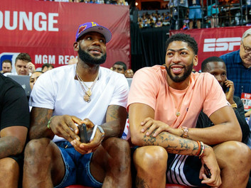 LeBron James and Anthony Davis Fulfill Lakers' Finals Promise