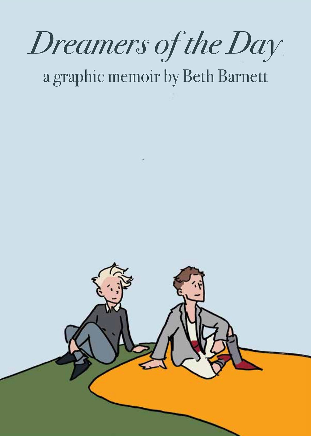 Dreamers of the Day, cover, self-published, Barnett