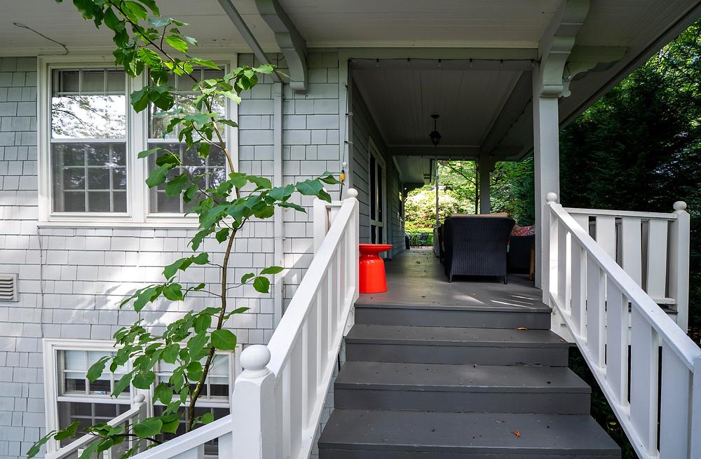patio design portland, portland real estate, classical architecture, classic outdoor,