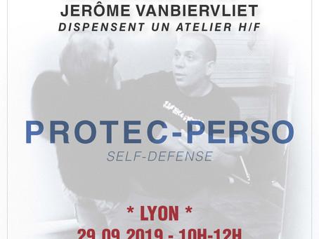 29.09.2019 - Atelier Protection perso à Lyon (69)
