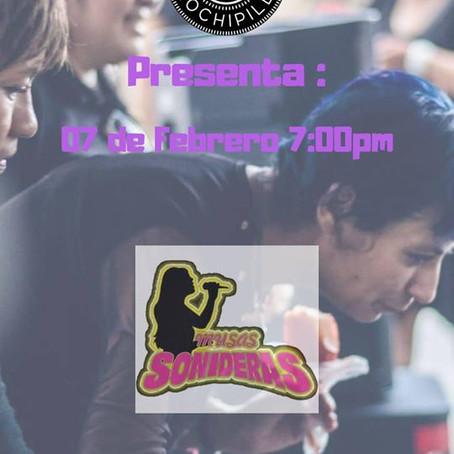 """""""Las Musas Sonideras"""" Sesiones en Vivo de Club Cannabico Xochipilli"""