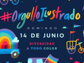 #OrgulloIlustrado...Diversidad a todo color.