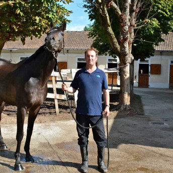 Our exclusive interview with French-Based trainer Andrew Hollinshead