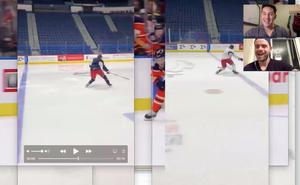 online hockey training with shawn
