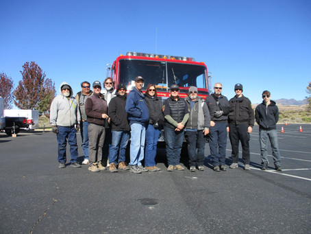 Welcome the newest DVFR Driver/Operator Class!