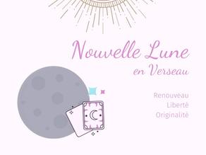Nouvelle Lune en Verseau