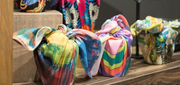 Lush beauty Furoshiki gift giving