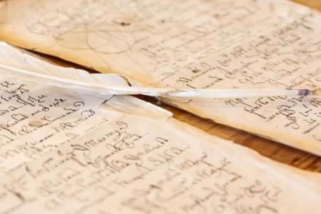 Vintage hand-written letter