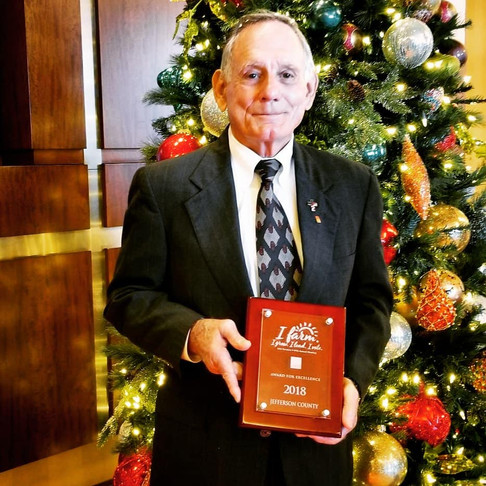 Jefferson County Awarded the Excellence Award