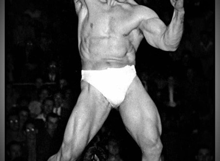 1948 MR UNIVERSE - Start of a dream.