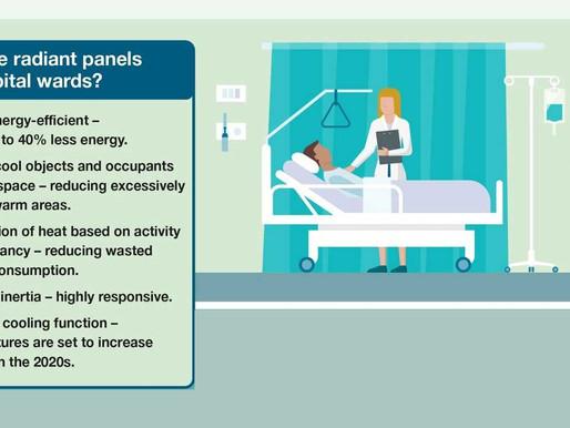 Why use Radiant Panels on Hospital Wards