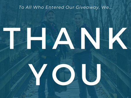 ANNOUNCING OUR GIVEAWAY WINNERS
