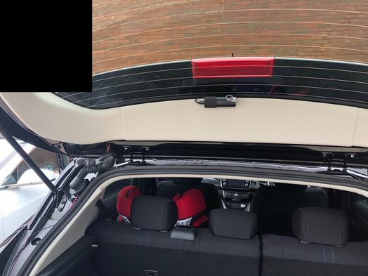 rear Camera view Nissan Leaf Dashcam Manchester