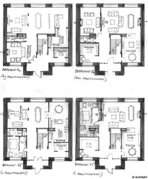 Developing Floor Plan Ideas with the Client