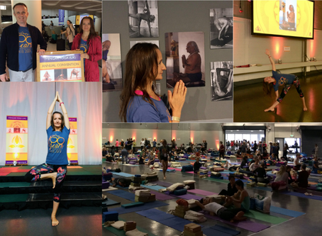 Iyengar Yoga Convention - a true celebration and enlivening 3 days