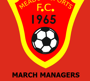March Managers Meeting - Thursday 7th March 7:30pm #Meadowmanagers