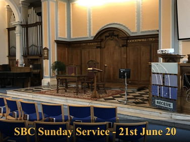 Sunday Service - 21 June 20