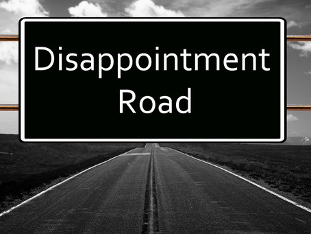 Minister's Monday Moment - Handling Disappointment