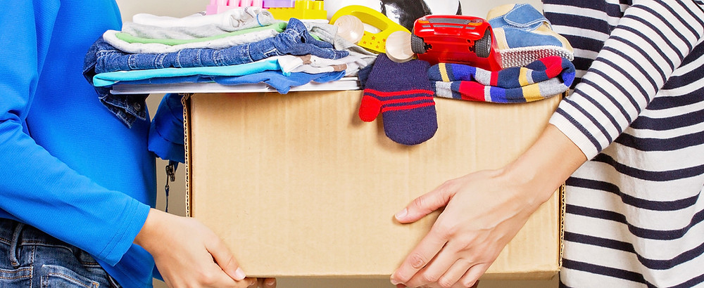 Where can you donate/re-home, recycle household items