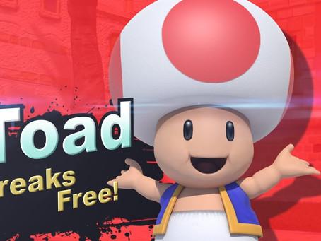 GERÜCHTE |Vermeintliches Leak-Video zeigt Toad als nächsten DLC-Kämpfer für SSBU