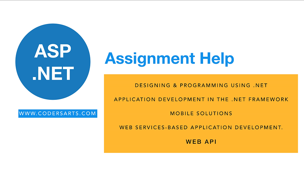 ASP.Net Assignment Help (Get Help Right Now) - Codersarts