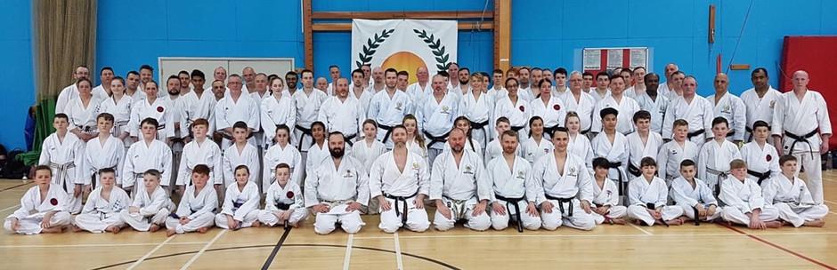 JKS Brown & Blackbelt Course Sunday 8th April 2018