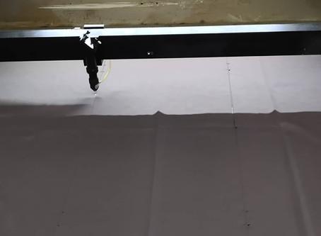 Laser cutting on fabrics