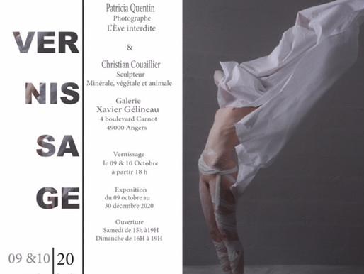 Exposition de Patricia Quentin à Angers