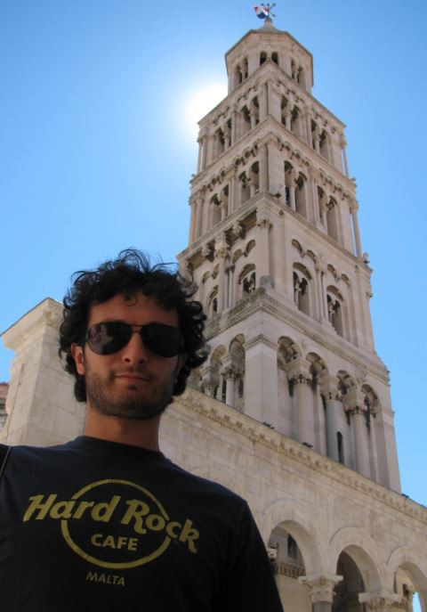 El espectacular campanario de la Catedral de Split