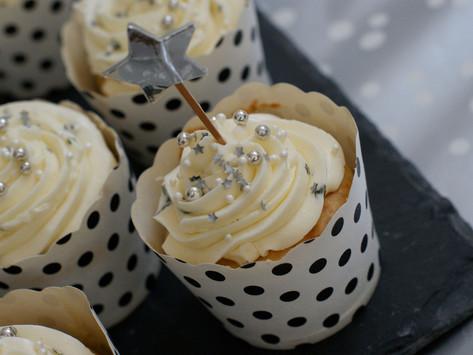 Champagner-Cupcakes mit Minze