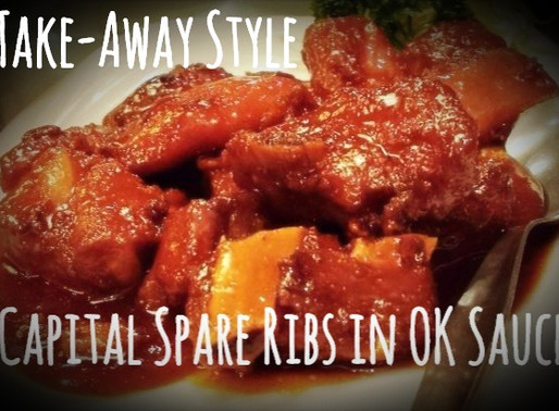 Take Away Style  - Chinese Capital Spare Ribs in OK Sauce