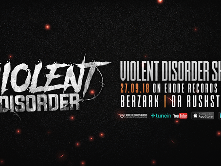 Tonight on Exode Records Radio [Violent Disorder show]