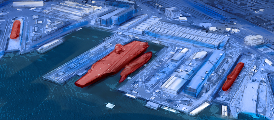U.S. Nuclear Fleet's Dry Docks at Risk From Climate Change