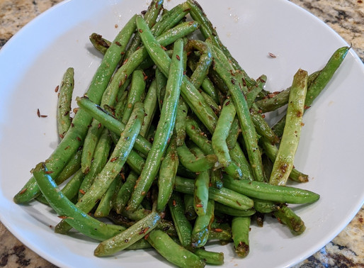Feed Me Friday: Sauteed Cumin Green Beans