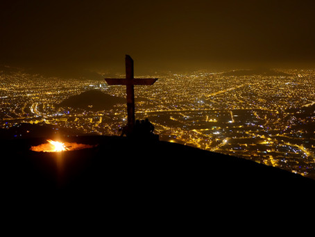 """""""La cruz de Abuela Victoria"""" (Das Kreuz von Oma Victoria)"""