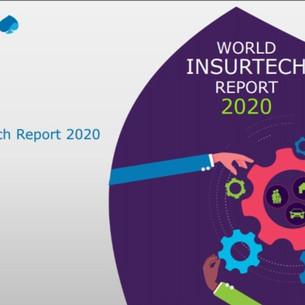 World InsurTech Report 2020: COVID-19 acelera a digitalização para atender à demanda dos clientes