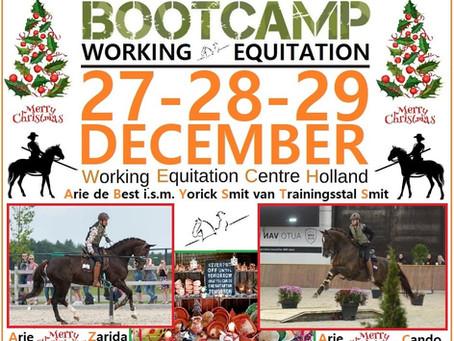 BOOTCAMP Working Equitation 27-29 DEC 2019